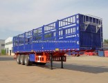 Horse/Oxen/Cow/Cattle/Sheep/Pig Transport Fence/Stake Semi Trailer From China Manufacture