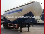 Flyash Transport 2 Axles 3 Axle Powder Silo Bulk Cement Tanker Tank Semi Trailer