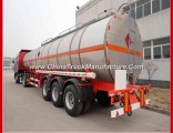 Factory Export Sell Tri Axle Aluminum Fuel Oil Tank Semi Trailer