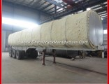Tri-Axle High Bed Oil Fuel Transport Stainless Steel Tanker Semi Trailer