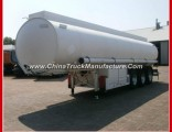 Phillaya Brand 30-50 Cbm Carbon Steel 3 Axles Fuel Oil Tank Trailer for Sale