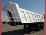 2 Axles 20 Tons - 80 Tons 32-Cbm-Voluminal Rear Dump Semi Truck Trailer