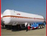 Phillaya New Style 3 Axles 50-58.5 Cbm LPG Tanker Semi Trailer