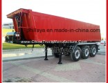 35cbm Tri-Axle End Dump Tipper Tipping Semi Truck Trailer of Mammut Type