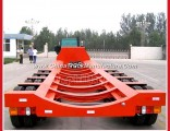 Phillaya Brand Hot Sale 4 Axles Extendable Lowbed Semi Trailer