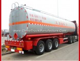 40-50 Cbm Capacity 3 Brand Axles Oil Fuel Tanker Truck Semi Trailer