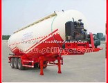 Phillaya Low Price 30-68m3 Optional Tri Axles Powder Tanker Semi Trailer