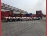 Heavy Duty 3-Line-6-Axle 100t Lowbed Low Bed Semi Trailer