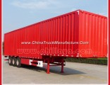3 Axles Box Type Light Cargo Semi Trailer