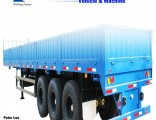 3 Axles Side Wall Cargo Truck Semi Trailer