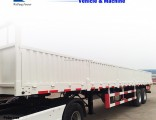 Weifang Forever Utility Side Wall Cargo Trailer for Hot Sale