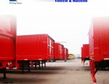 Side Wall Cargo Truck Semi Trailer for Sale