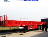 3 Axles 13m Cargo Semi-Trailer with Detachable Side Walls