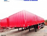Flatbed Cargo Semi/Truck Trailers with Side Wall