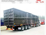 3 Axle Steel Van Cargo Semi Trailer
