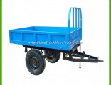 Competitive Price Low Bed Trailer for Agricultural Machinery