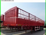 3 Axles 60 Ton Van Cargo Stake Truck Trailer
