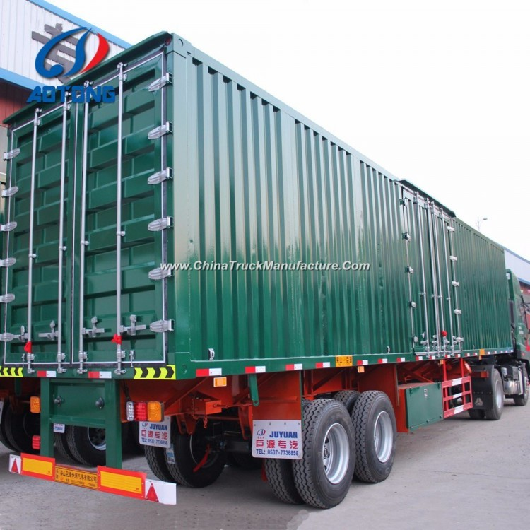 ef0125b678 China Manufacture 3axle Dry Van Type Cargo Semi Trailer for ...