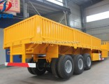 3 Axles Flatbed Container Utility Cargo Truck Trailer