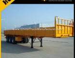 Manufacturer 20FT/40FT Transport Platform Semi Trailer for Sale