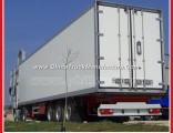 Tri-Axle Semi Dry Van Semi Trailer for Cargo Transportation