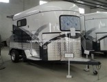 professional Manufacturer Deluxe 2 Horse Trailer Hot Selling in UK