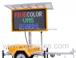 Optraffic Web Control Colour Vms LED Moving Signs Variable Message Signage Trailer