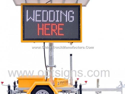 Australian Standard Portable Traffic Data Signs Message
