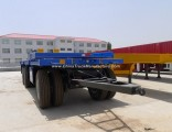 Utility Full Container Trailer, 30ton Flatbed Full Trailer