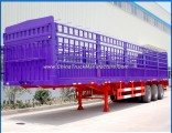 40FT Container Loading Trailer 3 Axle Storehouse Semi Trailer for Sale