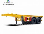 Chassis Skeleton Container Transport Truck Semi 20FT Trailer