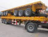Transport One 40FT or Two 20FT Container Semi Trailer