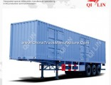40feet Box Van Container Semi Trailer