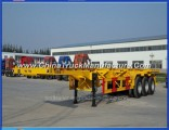 China Fabrica 3 Axle Skeleton Container Trailer for Sale