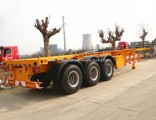 China Skeletal Container Trailer Price