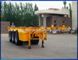 Container Chassis 3 Axles 40FT Skeletal Semi Trailer for Sale