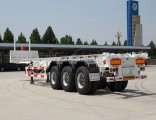50-80t 2/3 Fuhua/BPW Axles Skeleton Container Trailer for 20/40FT Container Transport