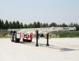 ISO9001/CCC Certificate Carbon Steel 2/3 Axles Skeleton Container Trailer for 20/40FT Container Tran