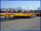 4 Axles 40FT 40tons Skeletal Trailer for Container Vans