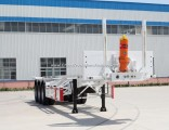 New ISO9001/CCC Certificate 2/3 Axles Skeleton Container Trailer for 20/40FT Container Transport