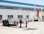 New ISO9001/CCC Certificate 2/3 Fuhua/BPW Axles Skeleton Container Trailer for 20/40FT Container Tra