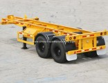 2 Axle 20FT 3 Axles 40FT Skeleton Trailer Container Trailer