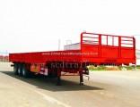 3 Axle 40ton 13m 600mm Detachable Sidewalls Dropside Trailer