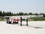 Quick/High Speed/Fast Loading/Unloading Seaport/Dock Skeleton/Chasiss Semi Trailer