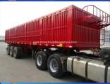 12 Wheel Heavy Duty Box Tipper Rear Dump Semi Trailer