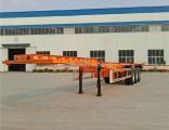Cimc Wholesale Industrila Auto Truck Skeleton Chassis Semi Trailer