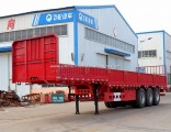 Made in China Renovate Side Wall/Flatbed Semi-Trailer/Turck Semi Trailer with Twist Lock