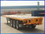 3 Axle 40feet Container Trailer for Container Transport, Trailer Chassis for Sale Chengda Brand