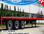 China Factory 20FT 40feet Container Chassis Trailer for Sale