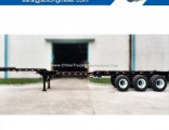 Light Duty 3 Axles 40FT Extendable Container Chassis Truck Trailer